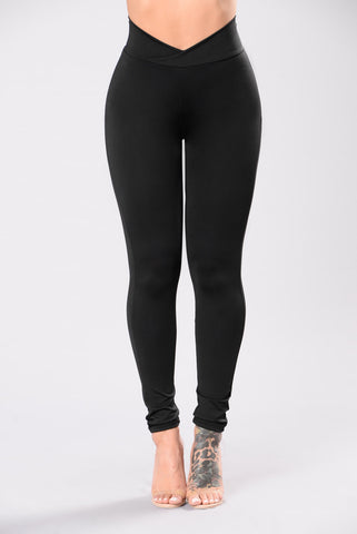 Click Up Leggings - Black