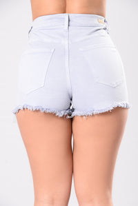 Better Than Yours Shorts - Grey Blue