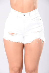 Better Than Yours Shorts - White