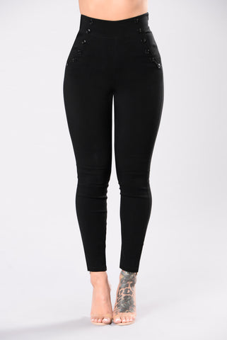 Beneath It All Pants - Black