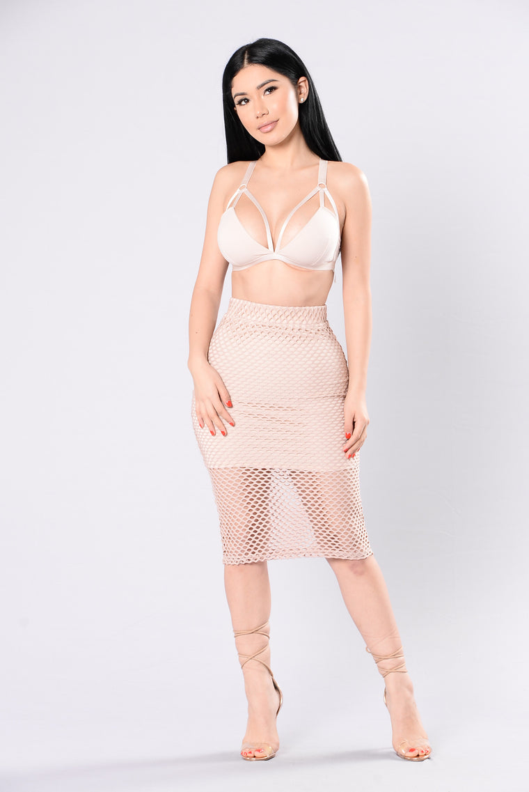 Mine Completely Skirt - Nude
