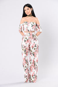 Garden Glam Pants - Ivory