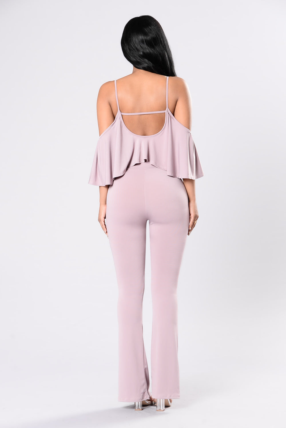 In The Highlight Jumpsuit - Mauve