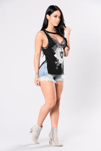 Rock & Roll Tank - Black
