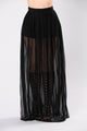 Sin City Skirt - Black