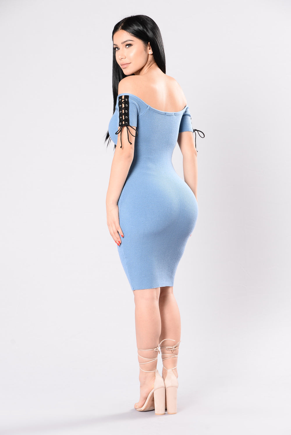Sex Appeal Dress - Blue Moon