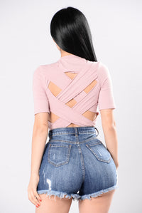Tangled Up Tee - Dusty Lavender