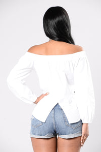 Copacabana Top - White