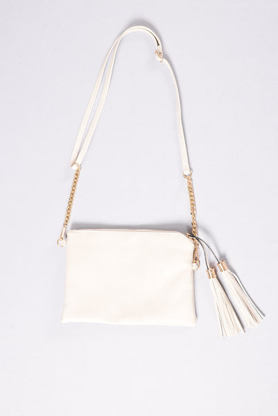 Forever Lovers Clutch - Beige