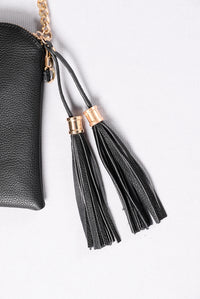 Forever Lovers Clutch - Black