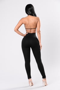 Just For Your Reaction Leggings - Black