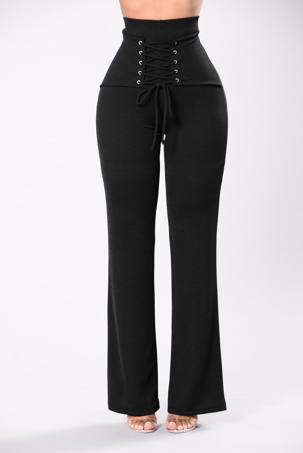 Never Wasting Time Pants - Black