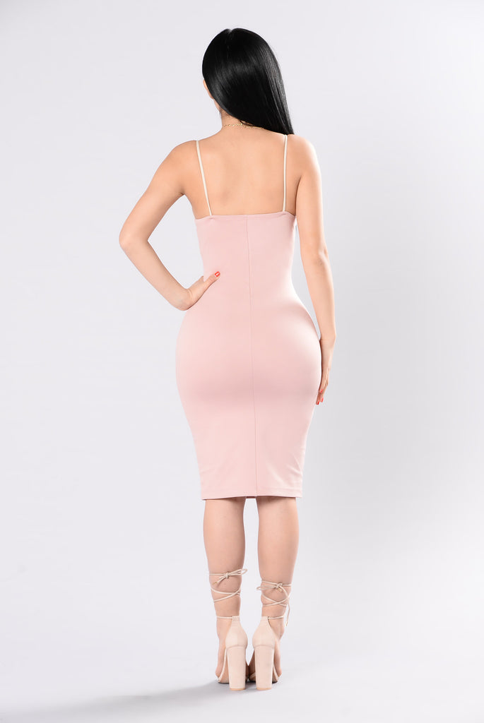 Everglow Dress - Pink/Nude