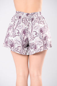 Try It Again Shorts - Farsi Grey