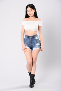 Hot Summer Nights Top - White