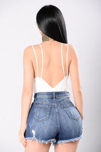 Express Yourself Bodysuit - Off White Angle 3