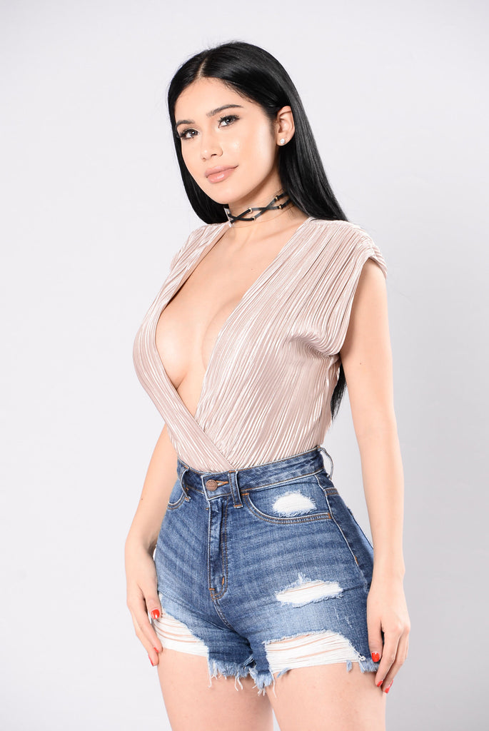 Show Me The City Bodysuit - Taupe