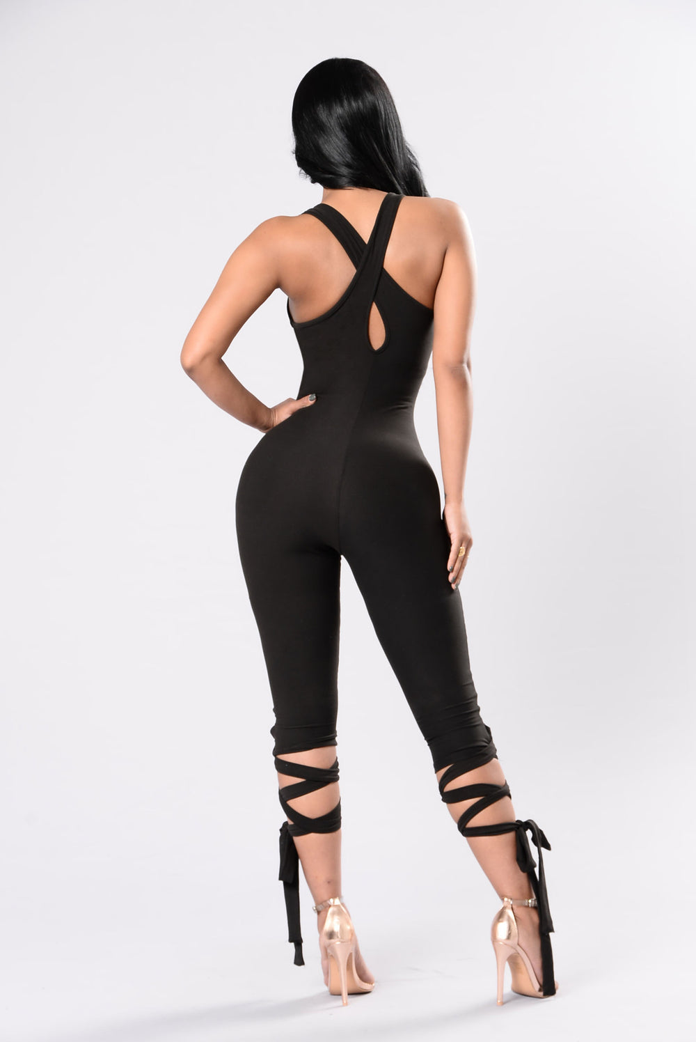 Urban Ballerina Jumpsuit - Black