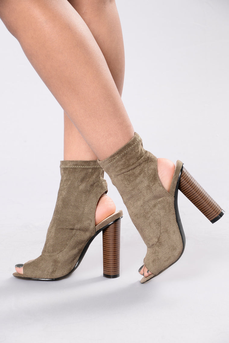 Invite Only Boot - Olive