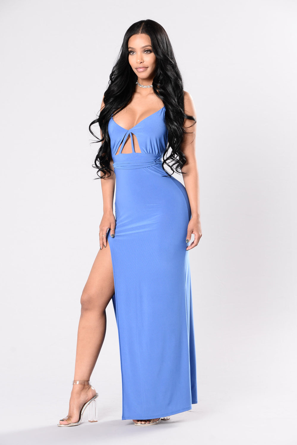 Carmel Dress - Periwinkle