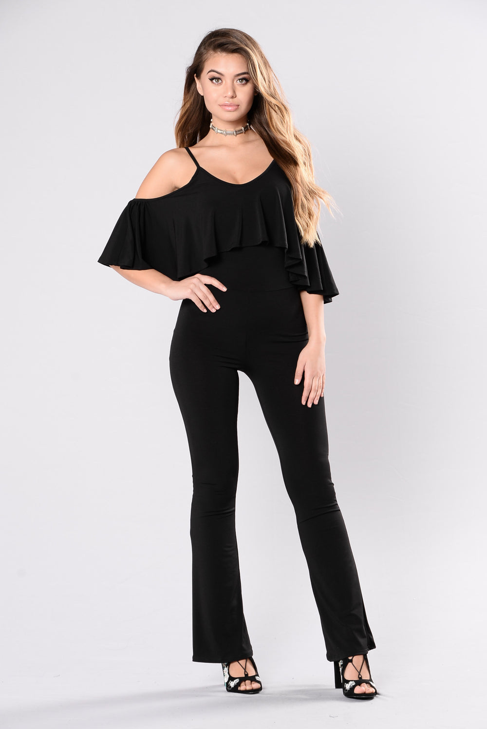 In The Highlight Jumpsuit - Black