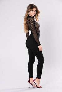 Anything Could Happen Bodysuit - Black