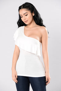 East To West Top - White