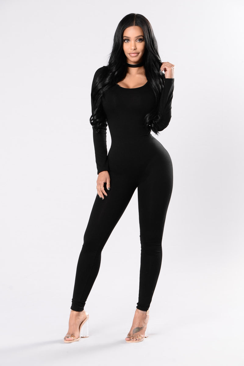 After Dark Jumpsuit - Black