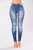 Oliver Moto Jeans-Medium Blue