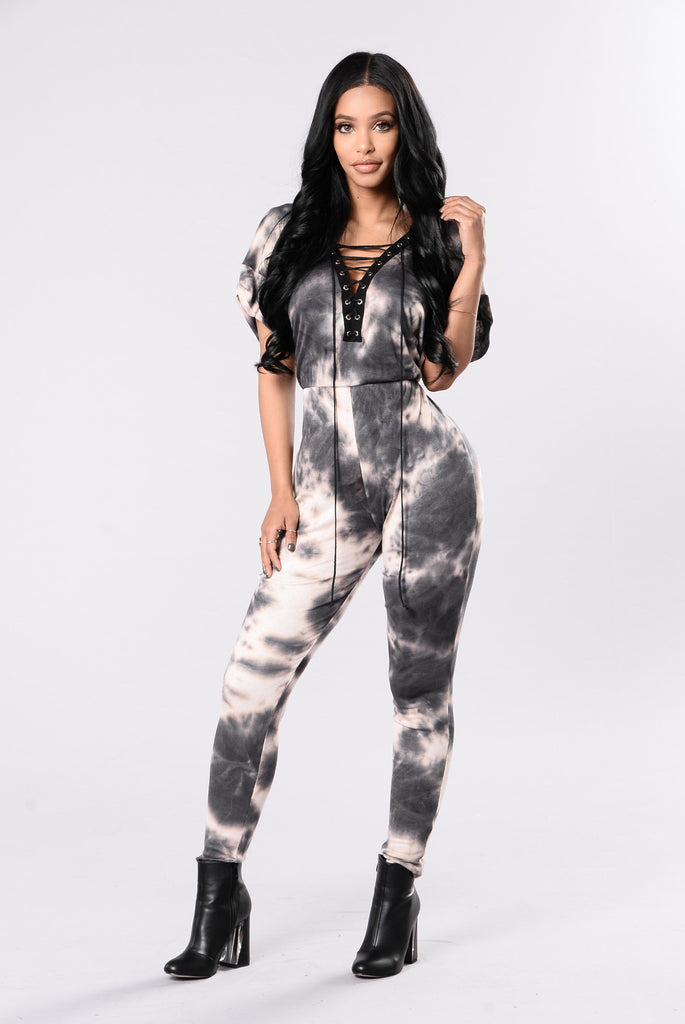 Dye Hard Jumpsuit - Navy