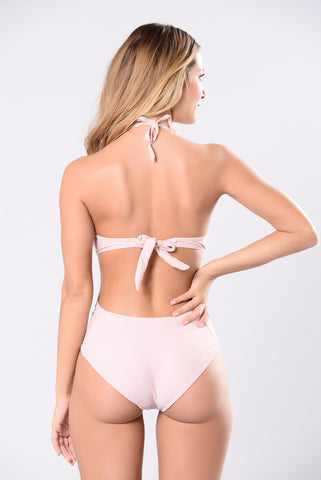 LMS One Piece - Dusty Rose