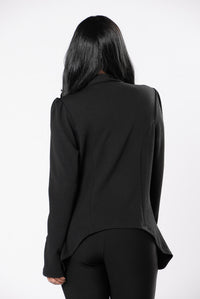Meet & Greet Blazer - Black