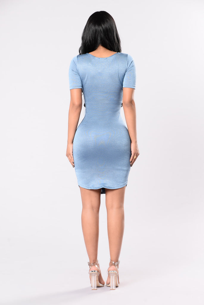 Ima Boss Dress - Blue
