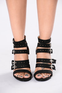 Rock With It Heel - Black