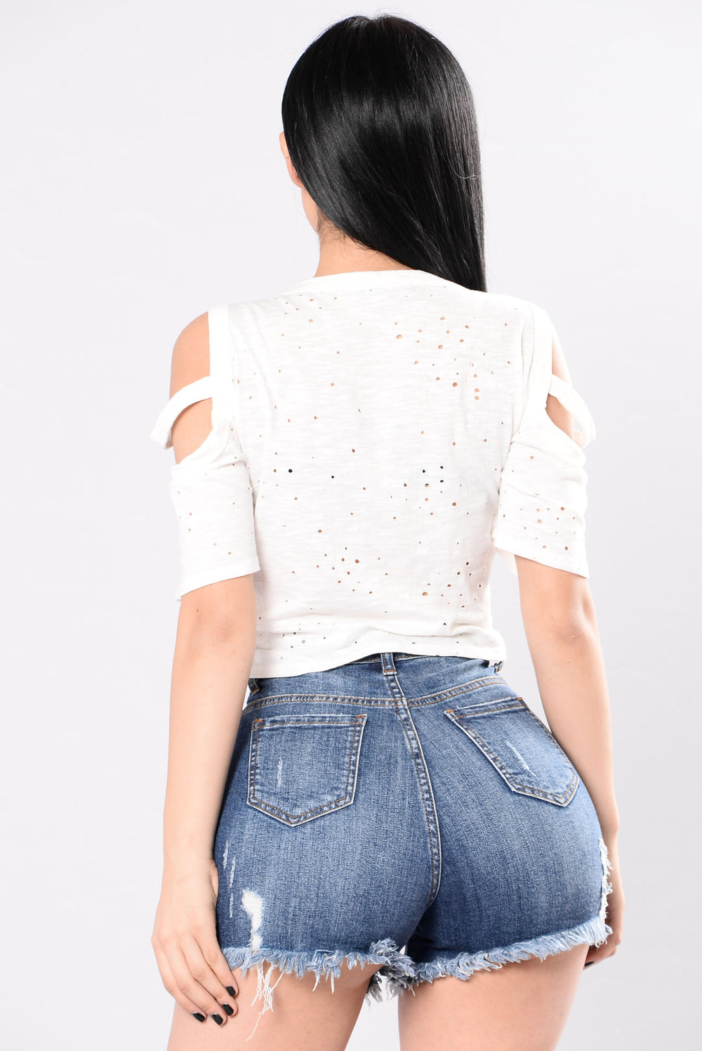 Rebel Child Top - White