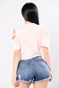 Rebel Child Top - Peach