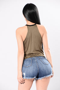 Ring Master Tank Top - Olive