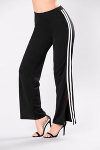 Oooh Callum Track Pants - Black/White