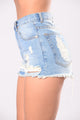 Worn & Torn Shorts - Light
