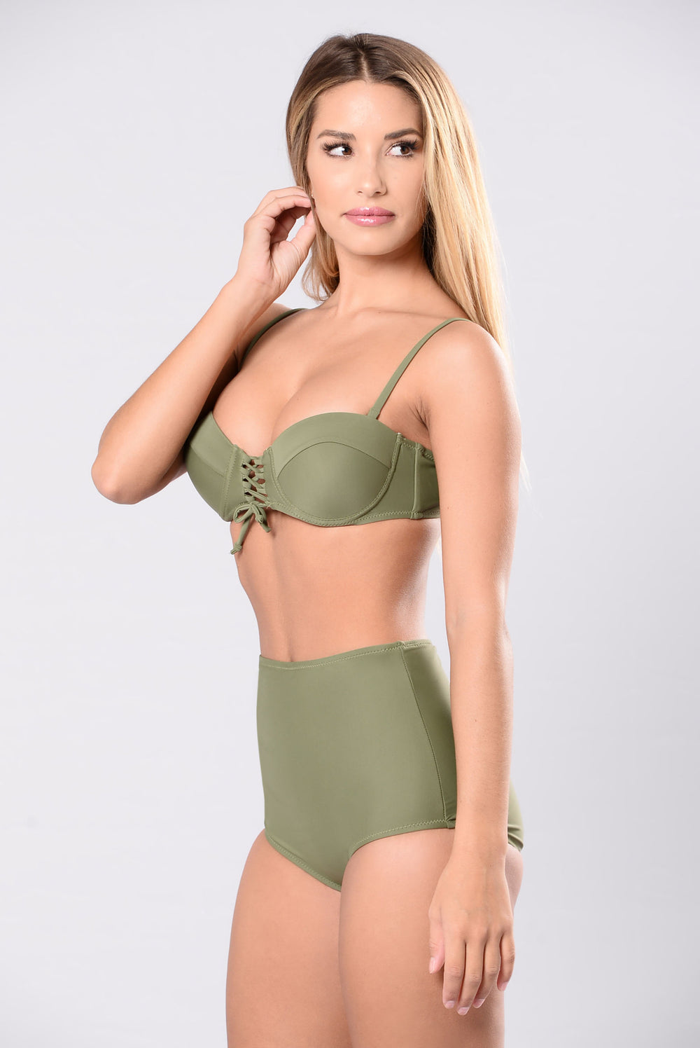 Go My Own Way Swimsuit - Olive