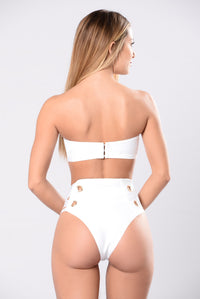 Dip And Dive Bikini - White