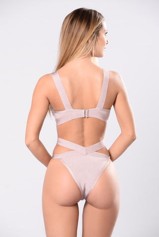 Body Waves Monokini - Lavender