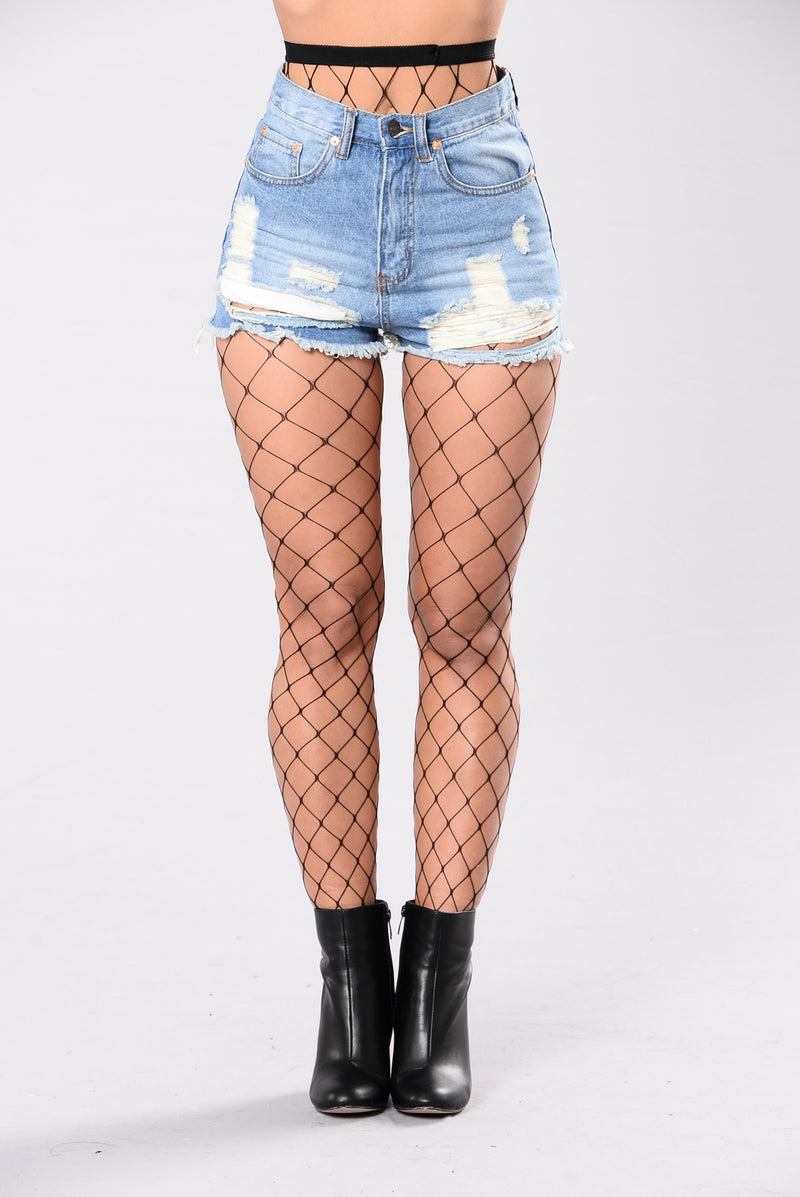 Women's Fishnet Stockings