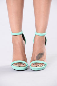 Go With It Heel - Aqua