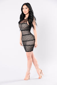 Ride It Dress - Black