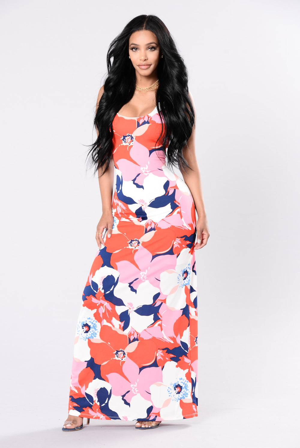 Singing In The Garden Dress - Pink