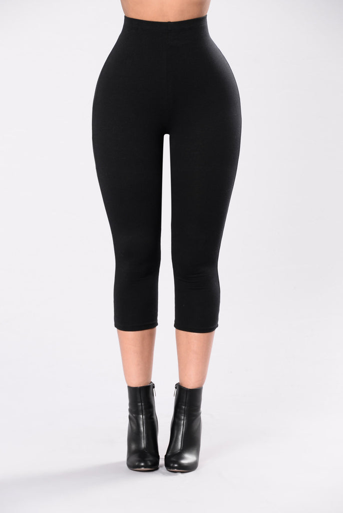 Love Never Felt So Good Leggings - Black