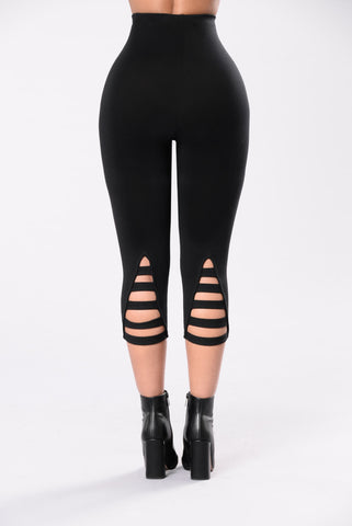 Love Never Felt So Good Legging - Black