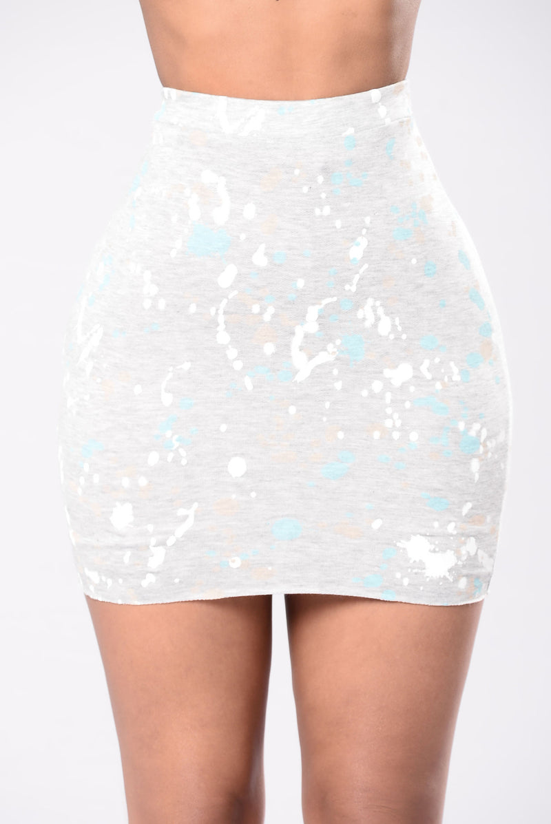 Painted Lady Skirt - Multi