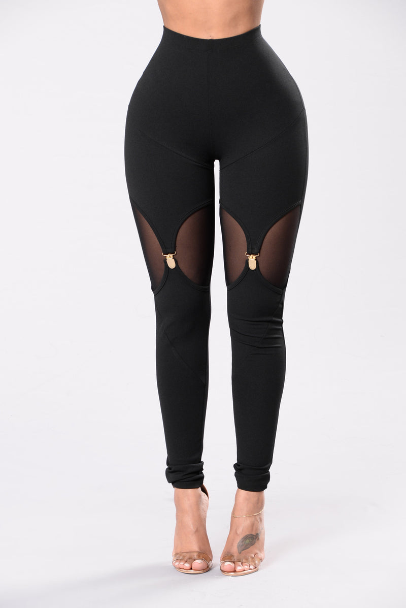 Bad Girls Only Leggings - Black